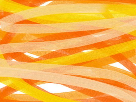 Orange Abstract art アブストラクトアート