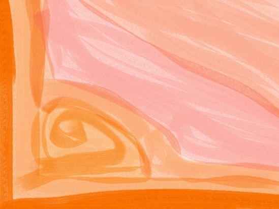 Sunny day Abstract art アブストラクトアート