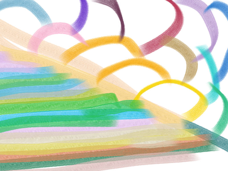 Where wind is Abstract art アブストラクトアート
