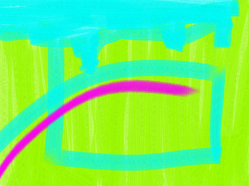 wind in the summer Abstract art アブストラクトアート
