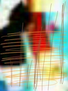 Abstract art アブストラクトアートーーート
