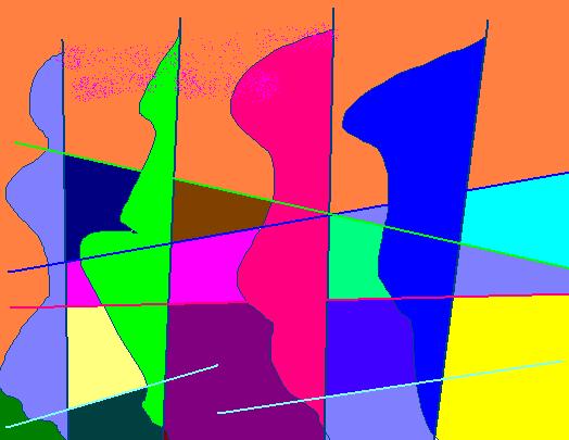Bay Abstract art アブストラクトアート