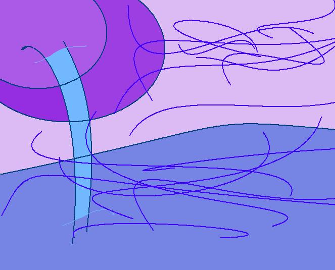 hall Abstract art アブストラクトアート