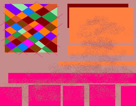 Garden Abstract art アブストラクトアート
