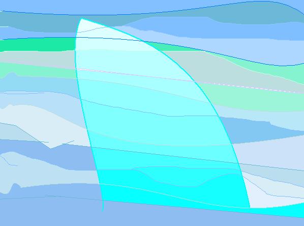 sky sail Abstract art アブストラクトアート