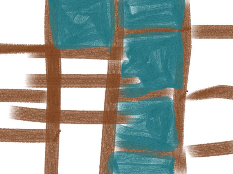 burrows Abstract art アブストラクトアート