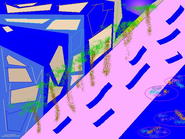 Streetview Abstract art アブストラクトアート