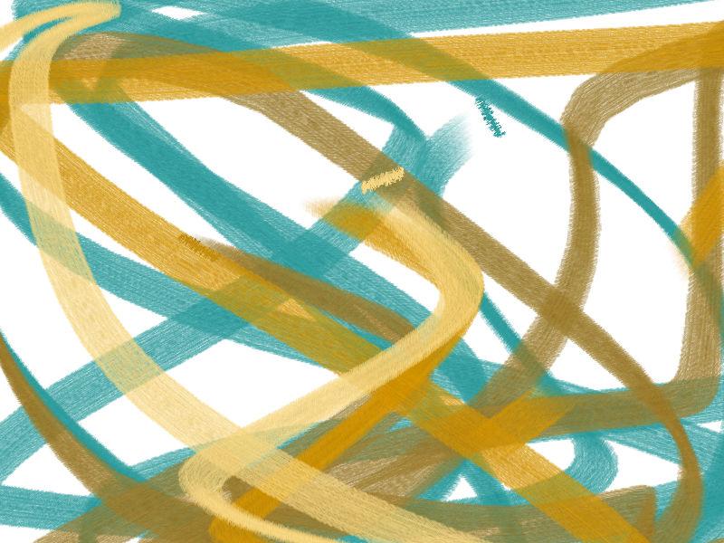 Long vacation Abstract art アブストラクトアート