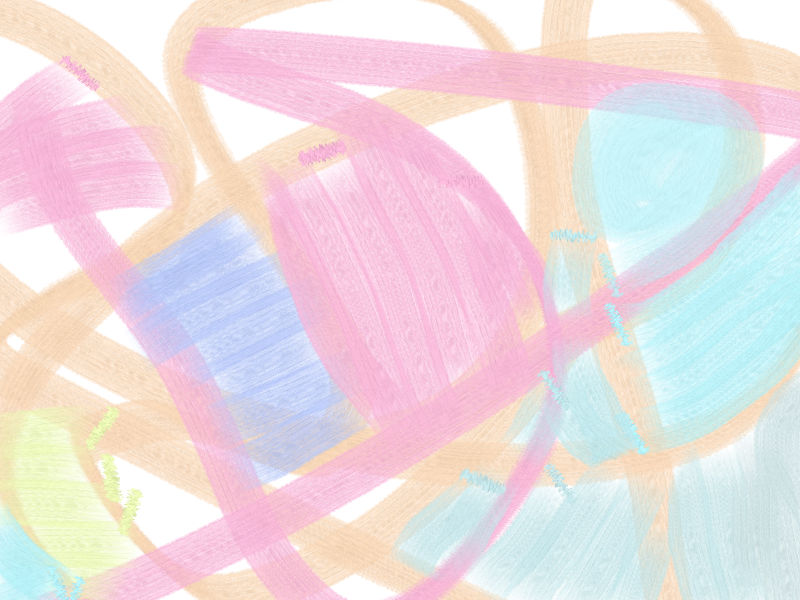 Under the sky Abstract art アブストラクトアート