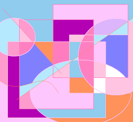 idleness Abstract art アブストラクトアート