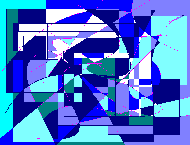 almost spring Abstract art アブストラクトアート