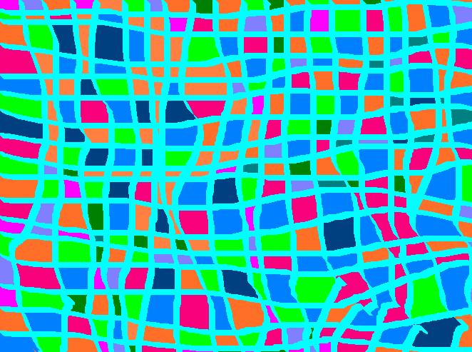 city more Abstract art アブストラクトアート