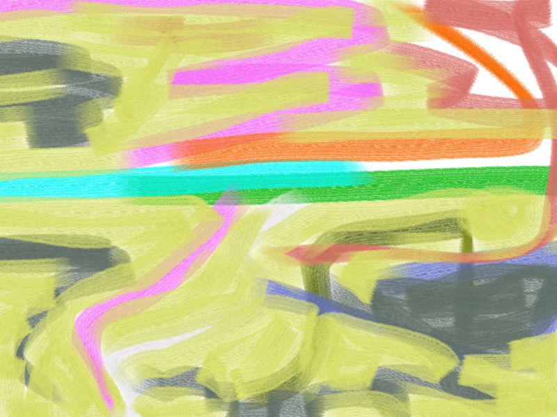 Ocean Abstract art アブストラクトアート