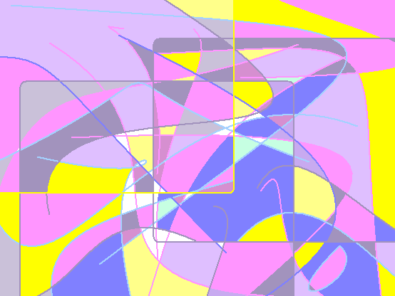 morning like this Abstract art アブストラクトアート