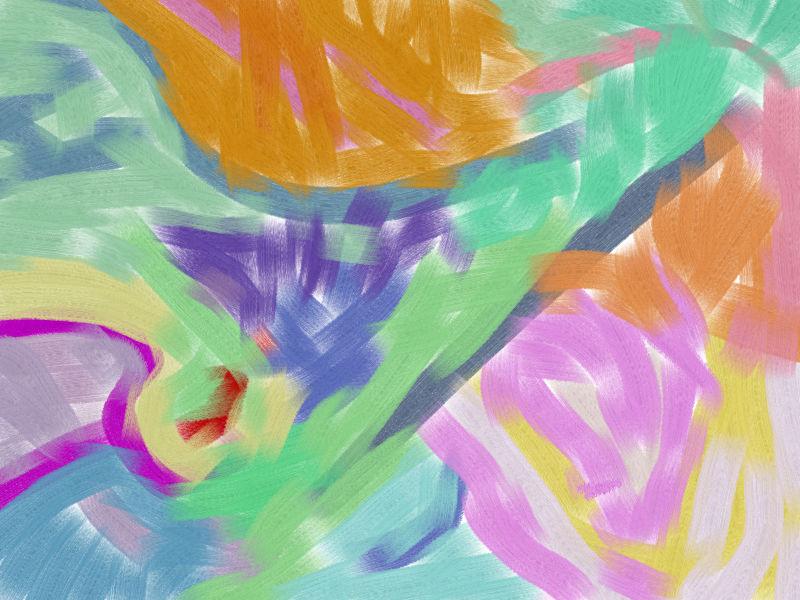 return Abstract art アブストラクトアート