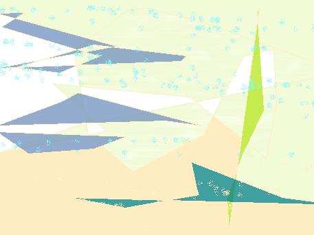 wind wind Abstract art アブストラクトアート