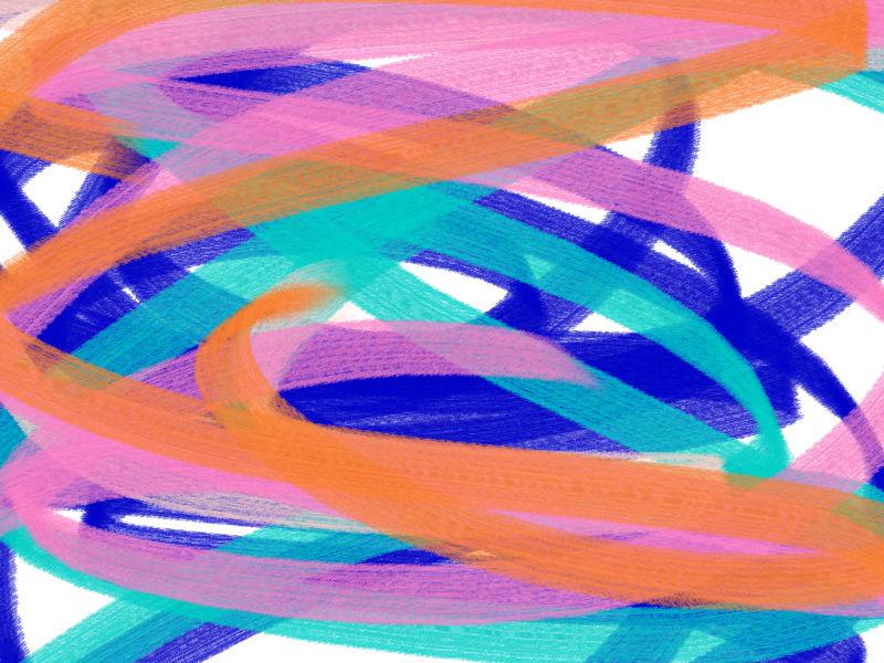 June rain Abstract art アブストラクトアート