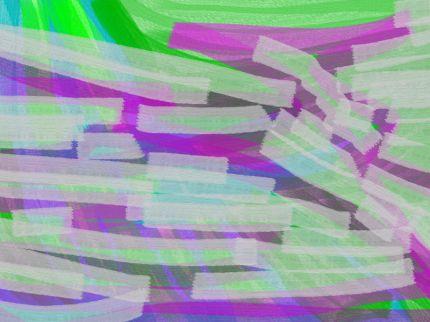 Storm of tenderness Abstract art アブストラクトアート