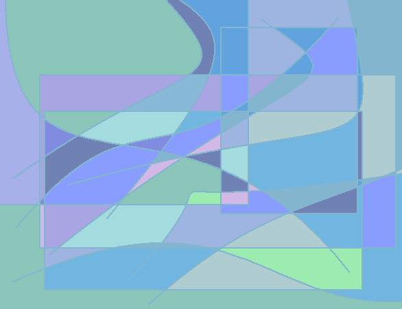 Stormy Abstract art アブストラクトアート