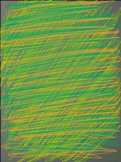 Summer storm Abstract art アブストラクトアート