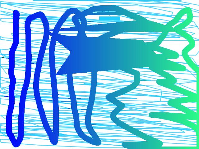 Windy Abstract art アブストラクトアート