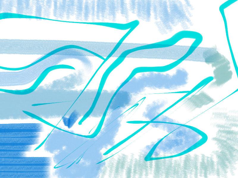 shop window Abstract art アブストラクトアート