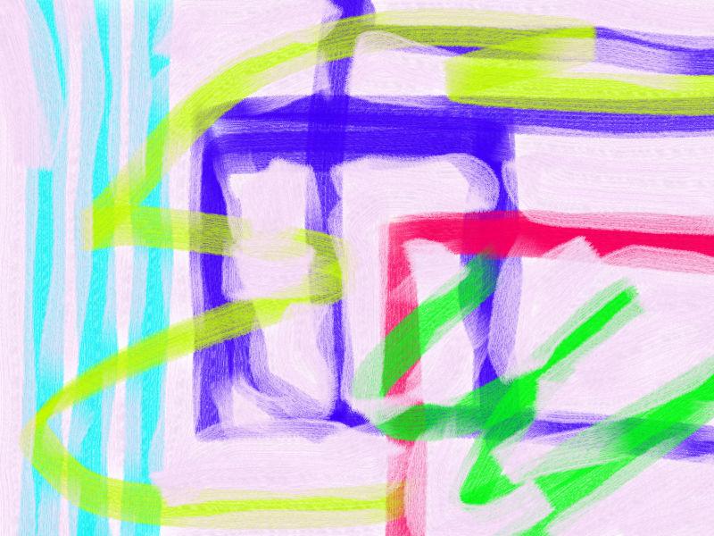 Room Abstract art アブストラクトアート