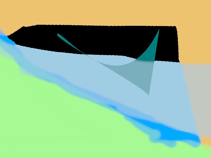 sea gull Abstract art アブストラクトアート