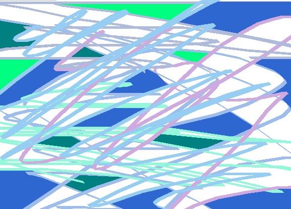 branches Abstract art アブストラクトアート