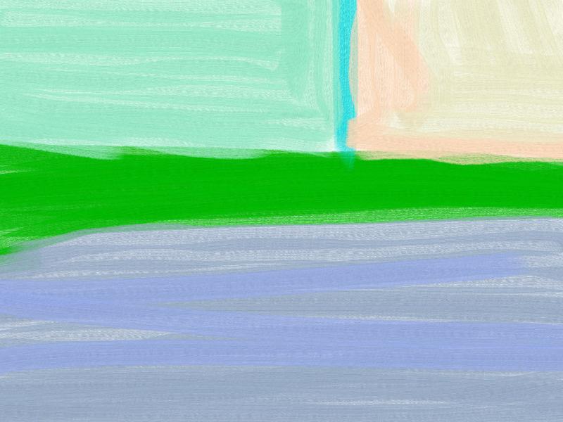 Cityscape then Abstract art アブストラクトアート