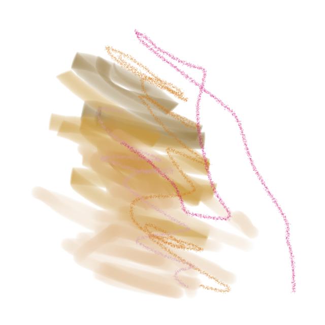 Bird Abstract art アブストラクトアート