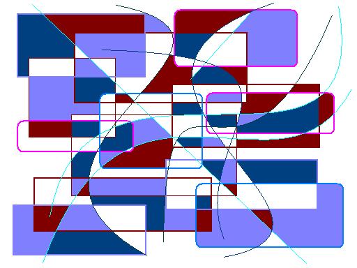 Like that Abstract art アブストラクトアート