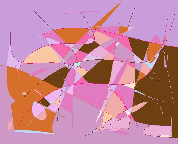 lines Abstract art アブストラクトアート