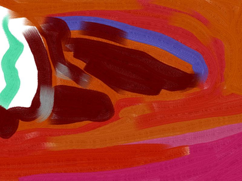then evening Abstract art アブストラクトアート