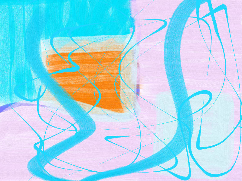 more sunny weather Abstract art アブストラクトアート