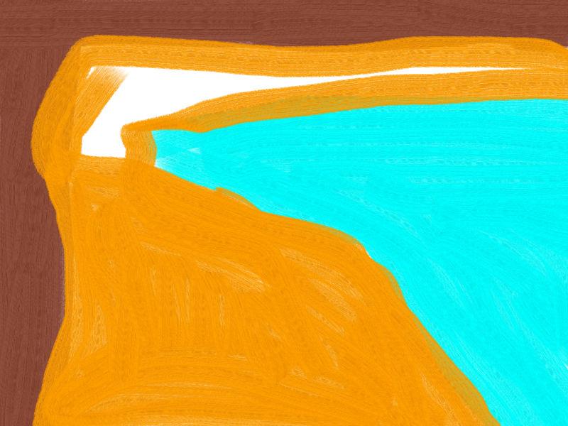 Window cliff Abstract art アブストラクトアート