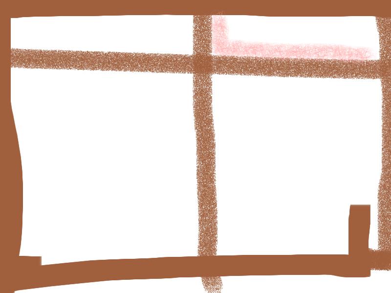 Window Abstract art アブストラクトアート